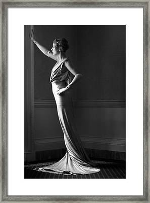 The View Framed Print by Damien Lovegrove