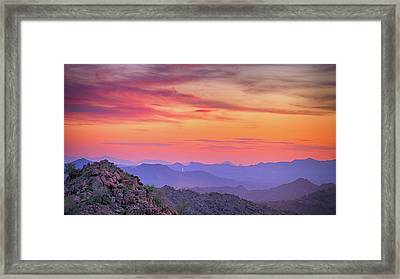 The View From Above Framed Print by Anthony Citro