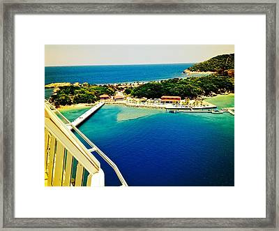 The View From Above Framed Print by David Coleman
