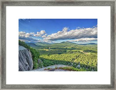 The View From Cathedral Ledge Framed Print by Brian MacLean