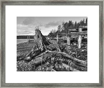 The View From Here Framed Print by Darryl Luscombe