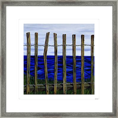 The View From Here Framed Print by Diane Korf
