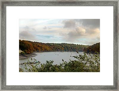 The View From Malpas Framed Print