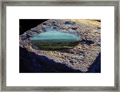 The View From Olympus Framed Print by Yuri Lev