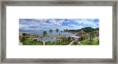 The View From Room 566 Framed Print