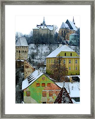 The View From The Clocktower Framed Print by Todd Fox