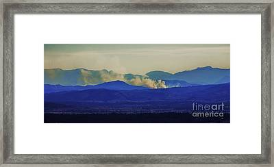 The View From The Top Framed Print