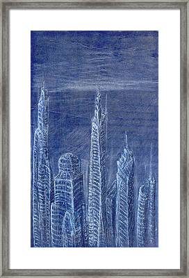 The View From Up Here Framed Print by J Michael Kilpatrick