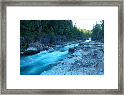 The View Of A River Framed Print