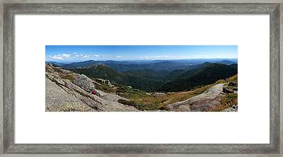 The View South From Mt. Marcy Framed Print