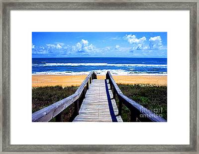 The View Framed Print by Thomas R Fletcher