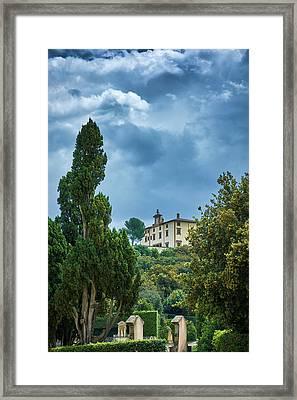The Views From The Boboli Gardens Framed Print