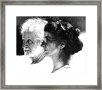The Vigil Framed Print by Carole Raschella