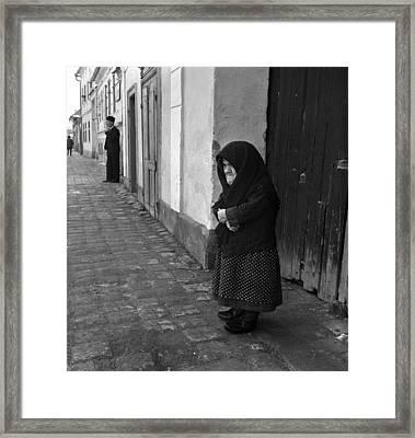 The Vigilants Framed Print by Emanuel Tanjala