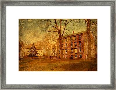 The Village - Allaire State Park Framed Print