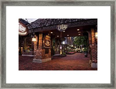The Village Gate Framed Print