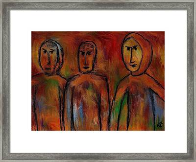 The Village People Framed Print by Rafi Talby