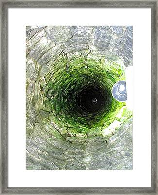 The Village Well Framed Print by Martine Murphy