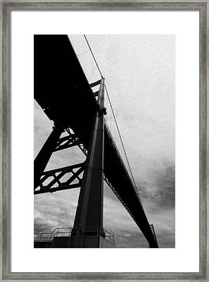 The Vincent Thomas Framed Print