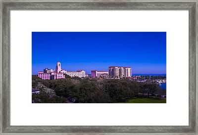 The Vinoy Resort Hotel Framed Print by Marvin Spates