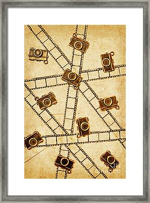 The Vintage Photo Gallery Framed Print