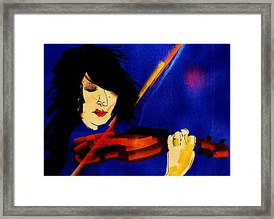The Violinist Framed Print