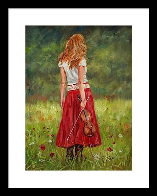 Violin Framed Prints