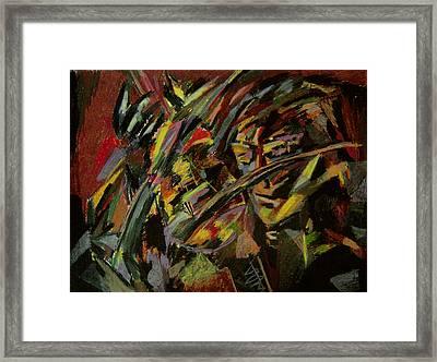 The Violinist Framed Print by Tadeush Zhakhovskyy