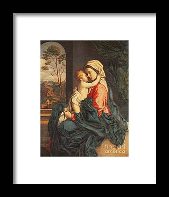 Virgin Framed Prints