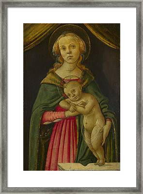 The Virgin And Child Framed Print