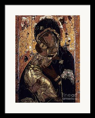 Orthodox Icon Photographs Framed Prints