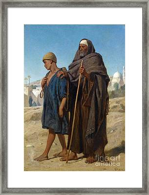 The Virtuous Boy Framed Print by MotionAge Designs