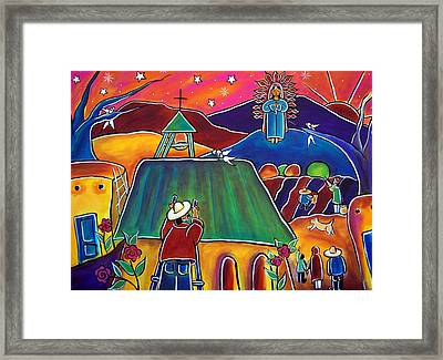 The Vision Framed Print