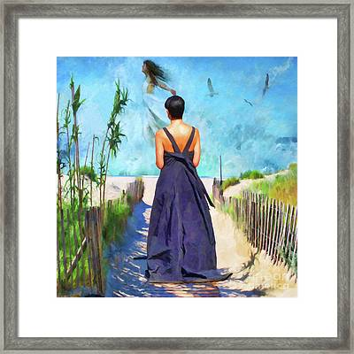 The Vision Framed Print by L Wright