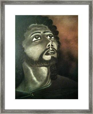 The Vision Of St. Christopher Framed Print