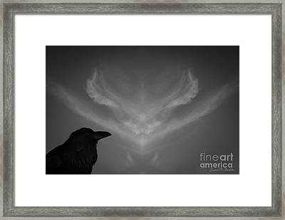 The Visitation Framed Print by Dave Gordon