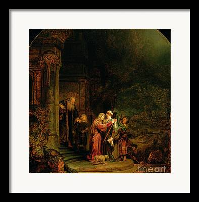 House Of Zacharias Framed Prints