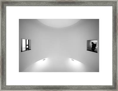 The Visitor Framed Print by Gerard Jonkman
