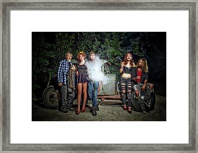 The Visitor Framed Print by Jerry Golab
