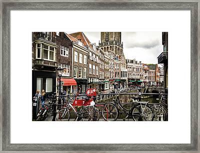 The Vismarkt In Utrecht Framed Print by RicardMN Photography