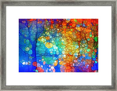 The Vivid Dreams Of Yesterday Framed Print