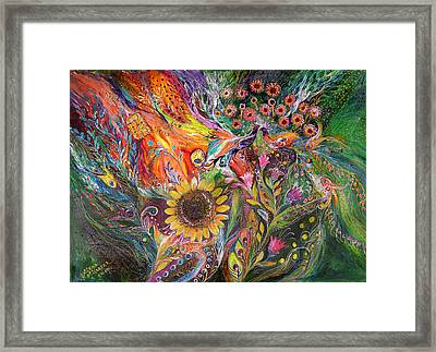 The Voice Of Spring Framed Print by Elena Kotliarker