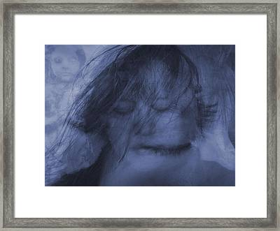 The Voices Framed Print by Tingy Wende