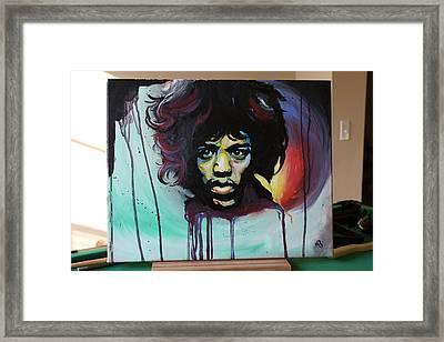 The Voodoo Child Framed Print by Matt Burke