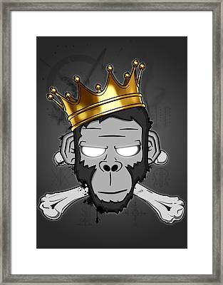 The Voodoo King Framed Print