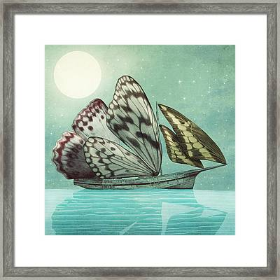 The Voyage Framed Print by Eric Fan