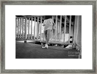 Framed Print featuring the photograph The Wait by Dean Harte