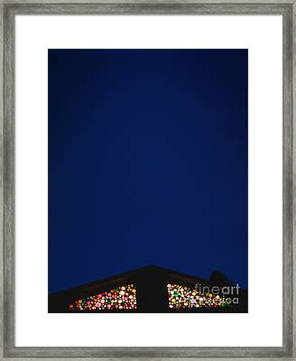 The Wait For Santa Framed Print by The Stone Age
