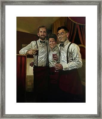 The Wait  Framed Print
