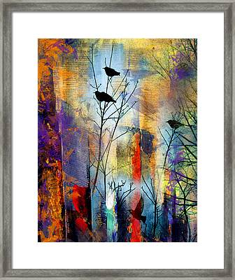 The Wait Framed Print by Moon Stumpp